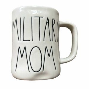 RAE DUNN Military Mom Mug Mint